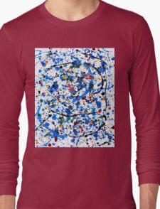Blue #22 Long Sleeve T-Shirt
