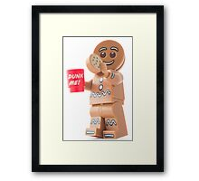 Good afternoon (tea and biscuits), Clarice Framed Print