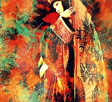 Geisha Girl iphone cover by Vanessa Barklay