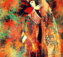 Geisha Girl iphone cover by Vanessa Barklay