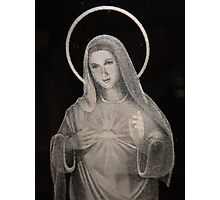 Sacred Heart of Mary Photographic Print