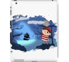 The scared pirate iPad Case/Skin