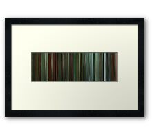 Moviebarcode: Shoot 'Em Up (2007) Framed Print