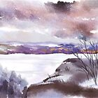 The Lonely Colours of Winter by Joan A Hamilton