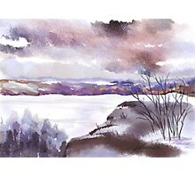 The Lonely Colours of Winter Photographic Print