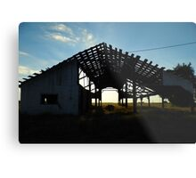 One Good Wind And Its Also Gone Metal Print