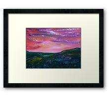 Prairie Lights Framed Print