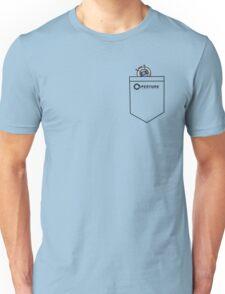 Tiny Wheatley in Pocket :3 [Portal] Unisex T-Shirt