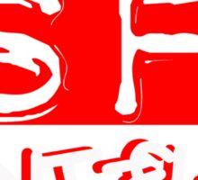 SAINT - FLIRT LOGO Sticker