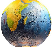 Earth Globe by asakura