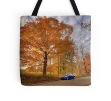 Coupe in the Fall Tote Bag