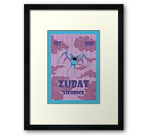 Try Some Zubat Licorice Framed Print