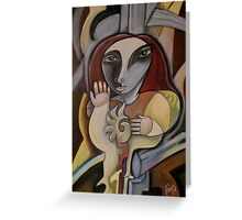 Allegory Greeting Card