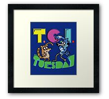 TGI Tuesday Framed Print