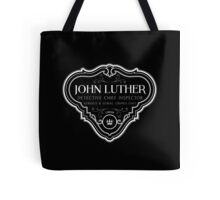 Luther - Badge - White Clean Tote Bag