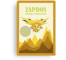 The Zapdos Energy Corporation Canvas Print