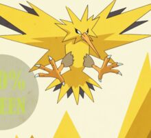 The Zapdos Energy Corporation Sticker