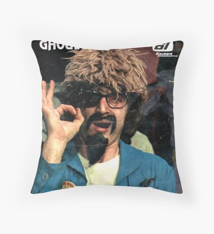 The Ghoul OK-2 t-shirt Throw Pillow
