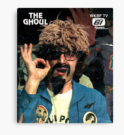 The Ghoul OK-2 t-shirt Canvas Print