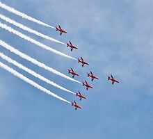 The Red Arrows, Eastbourne by David Fowler