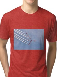 The Red Arrows, Eastbourne Tri-blend T-Shirt