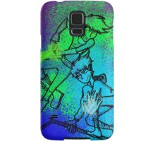 WHITE-HAIRED WONDERS (solid colour) Samsung Galaxy Case/Skin