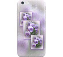 Pastel Pansies One iPhone Case/Skin