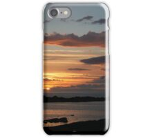Gamrie Sunset iPhone Case/Skin