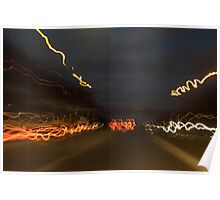 Driving at night can be fun Poster