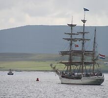 Leaving Stromness by Fiona MacNab