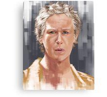 Carol Peletier Walking Dead Canvas Print