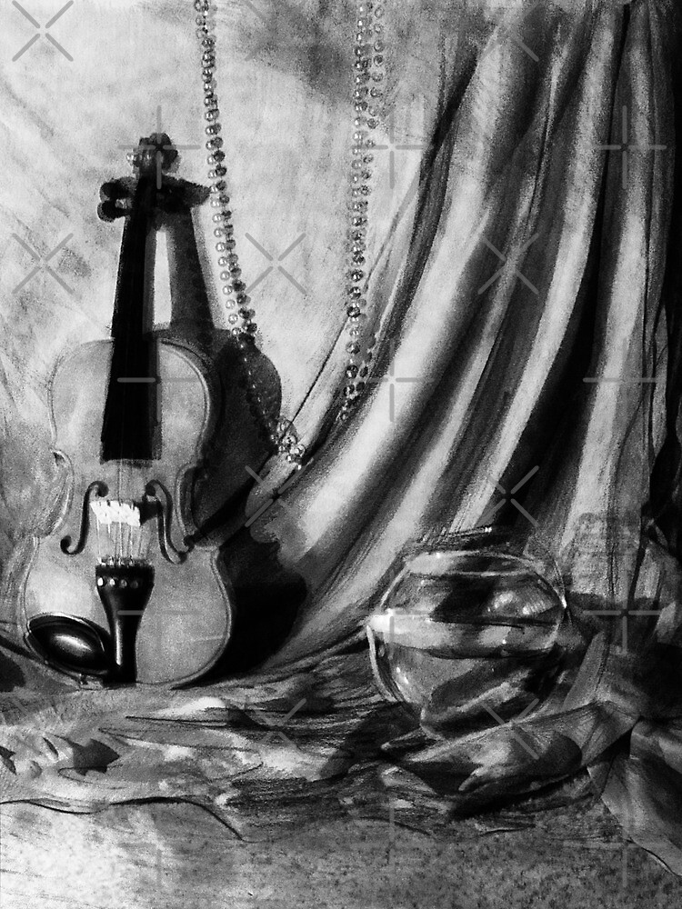 Violin Still Life by SaradaBoru