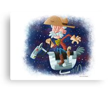 Space Cowboy Canvas Print