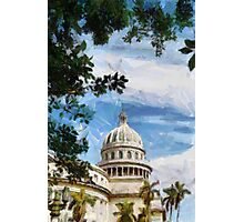 Capitolio, Havana, Cuba Photographic Print