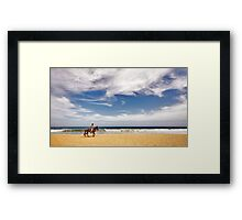 The Mexican Coast Cowboy Framed Print