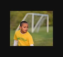 Young Soccer Player Unisex T-Shirt
