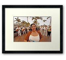 Sing Your Heart out Framed Print