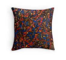 Abstract #10 Throw Pillow