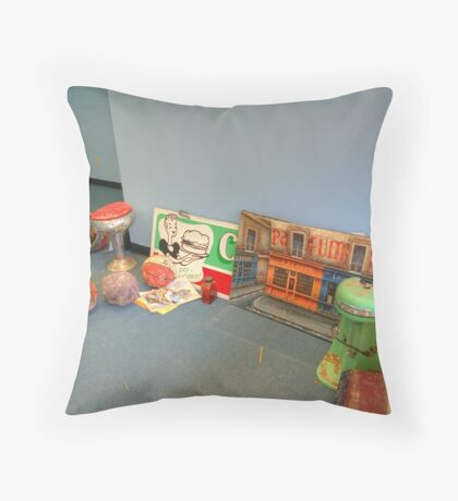 Saved  Throw Pillow