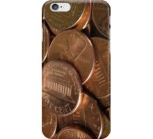 Pennies  iPhone Case/Skin