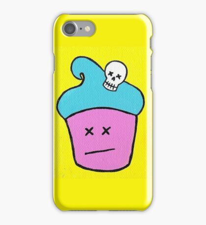 Cupcakes Kill iPhone Case/Skin