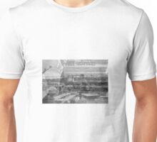 escaping the rain with no cover Unisex T-Shirt