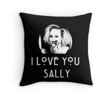 I love you, Sally Throw Pillow