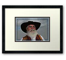 """"""" Wild Bill """" Framed Print"""