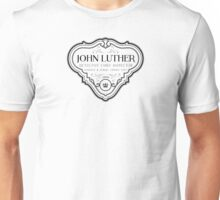 Luther - Badge - Black Clean Unisex T-Shirt