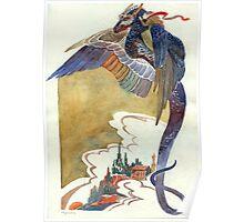 Flying dragon Poster
