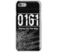 0161 Manny on the map - Bugzy malone iPhone Case/Skin