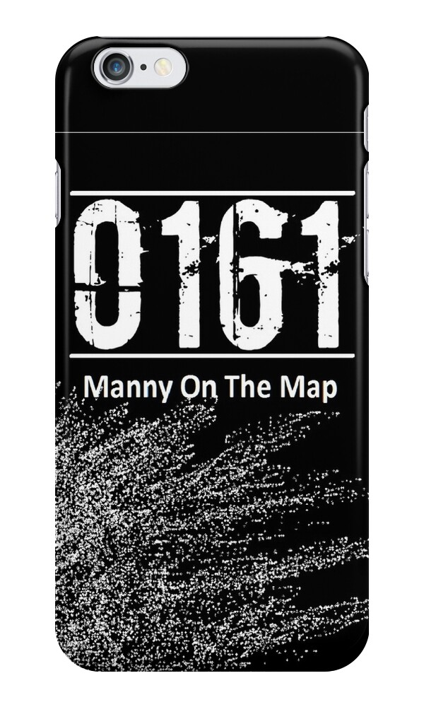 """""""0161 Manny on the map - Bugzy malone"""" iPhone Cases ..."""