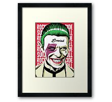Rock'n'Roll Suicide Framed Print
