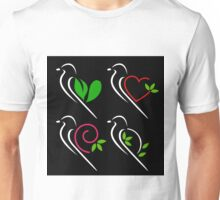 Abstract birds Unisex T-Shirt